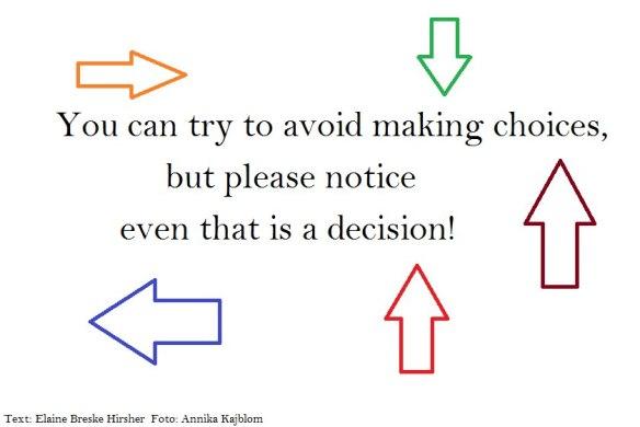 avoid choices