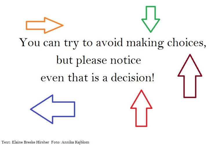 avoid choices
